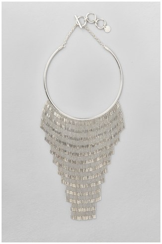Statement Fringed Necklace