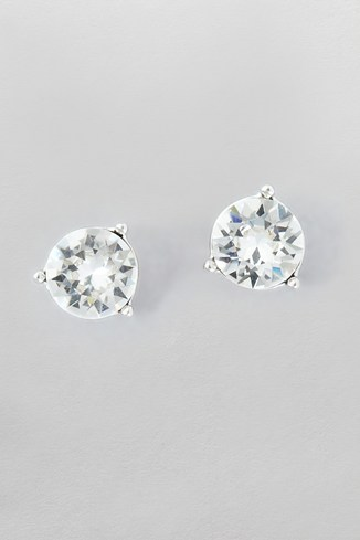 Crystal Stud Earrings Made With Swarovski Elements
