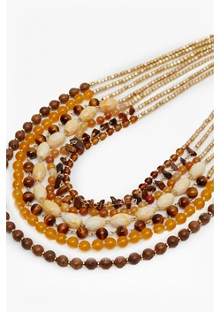 Multi Row Beaded Necklace