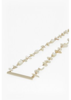 Shell Mother of Pearl Chain Necklace