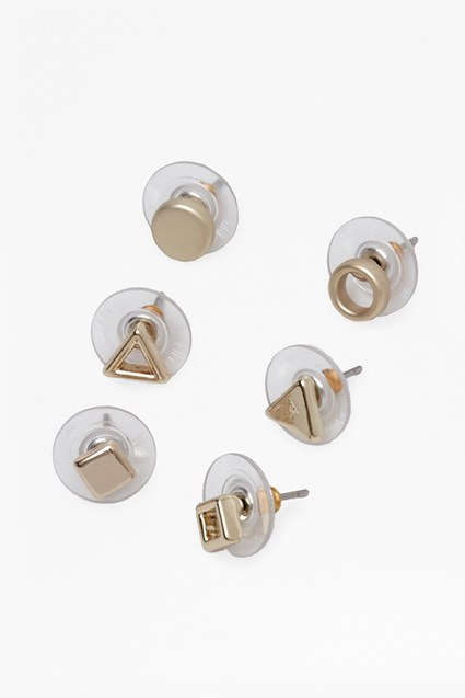 Shape Studs Earring Set