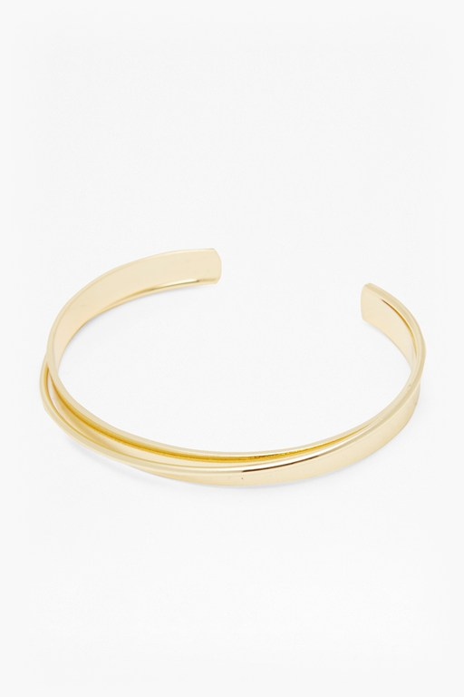 Complete the Look Geo Twisted Bracelet Cuff