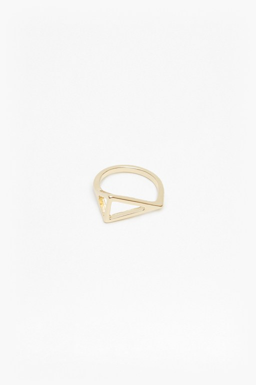 Complete the Look Geo Right Angle Ring