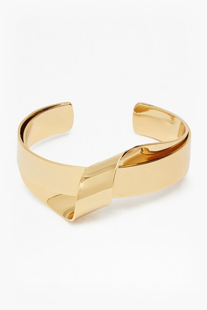 Core Ribbon Twist Bangle