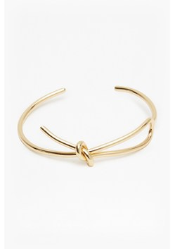 Core Looped Knot Cuff Bracelet