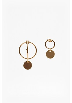 Piercing Orbiting Asymmetrical Earrings