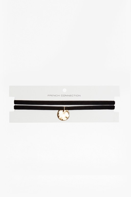 Complete the Look Velvet Double Choker