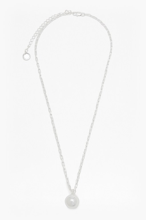 pendulum ball pendant chain necklace