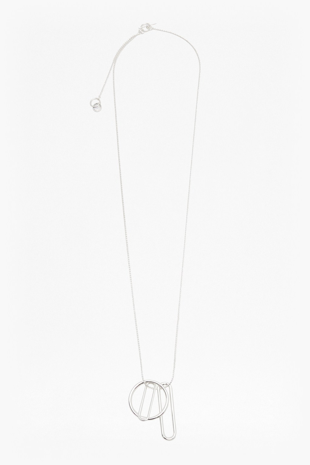 French Connection Paperclip Chain Necklace kTe8brP