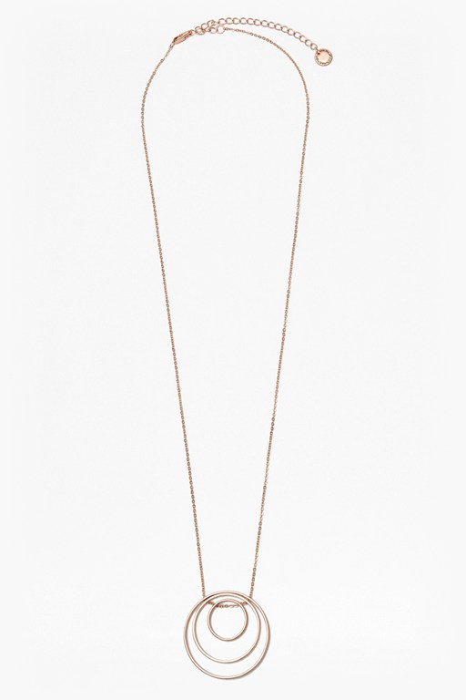 Complete the Look Core Trio Circle Pendant Necklace