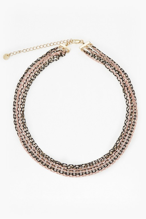 dream multi chain necklace