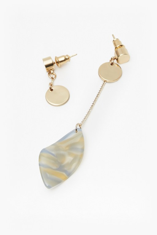 Complete the Look Botanical Petal Leaf Earrings