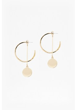Core Hoop And Drop Circle Earrings