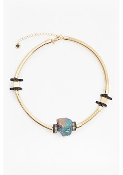 Iridescent Crystal Statement Choker Necklace