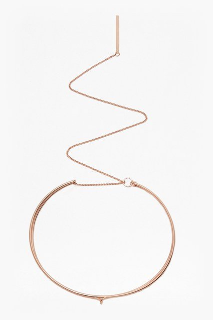 Squiggle Choker Necklace