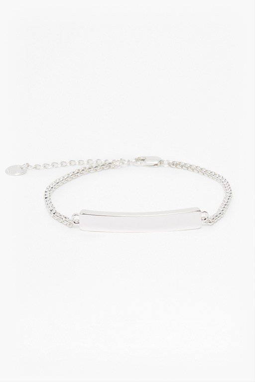 core chunky bar bracelet