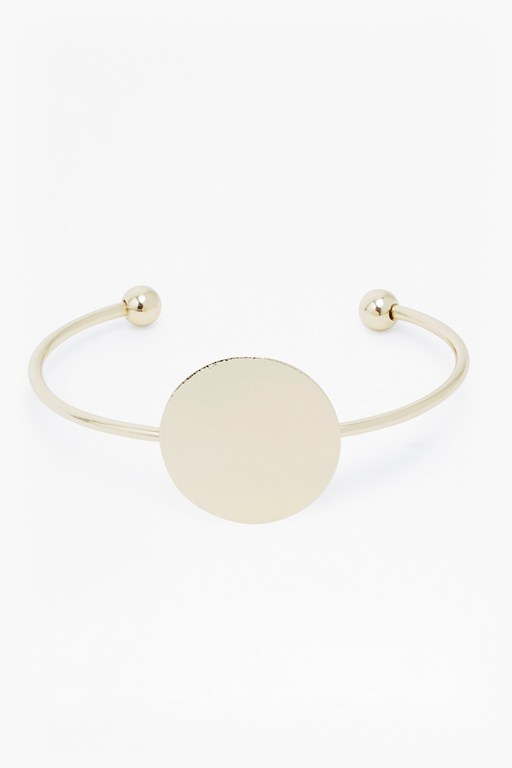 Complete the Look Core Brushed Disc Bangle
