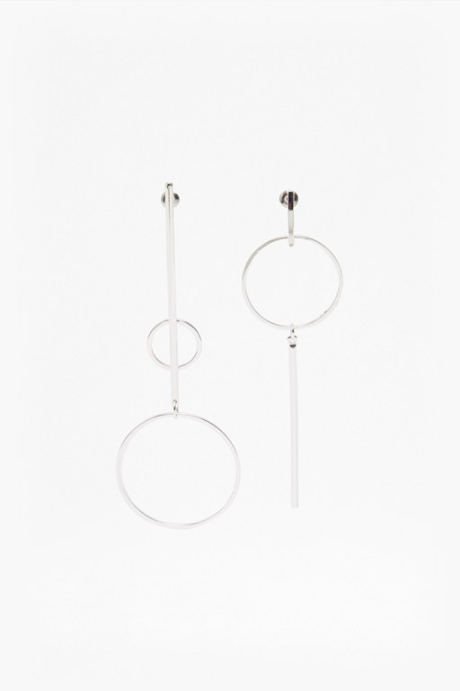core mix match drop loop earrings