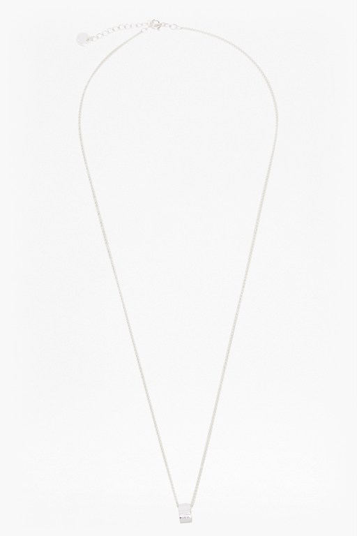 pendulum mini ring necklace