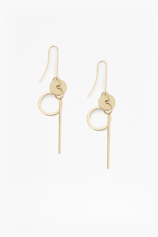 Complete the Look Core Circle & Bar Earrings