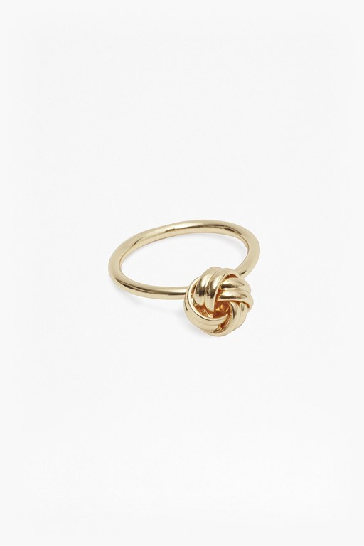 Complete the Look Knot Ring