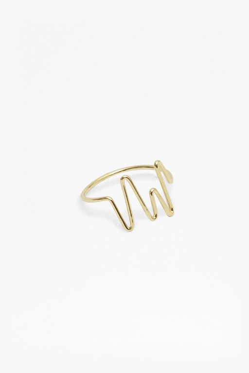 Complete the Look Squiggle Ring