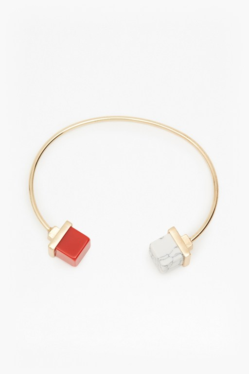 Complete the Look Geo Resin Bangle