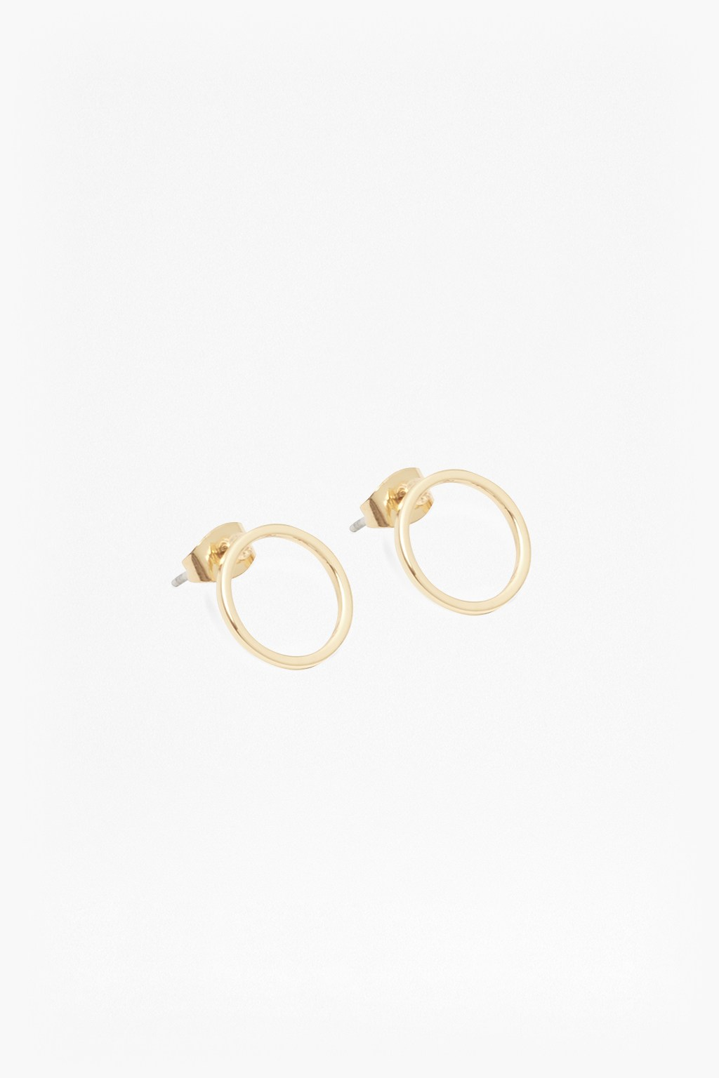 circle products stud wire filled il hooks earrings and luxe gold fullxfull geometric tiny