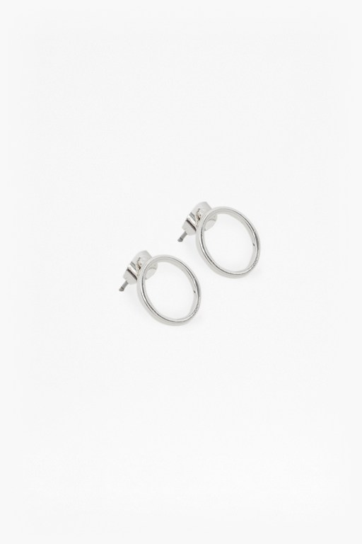 Complete the Look Core Circle & Bar Stud Earring