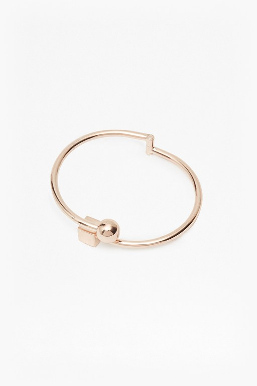 Complete the Look Cube And Sphere Sliding Bangle