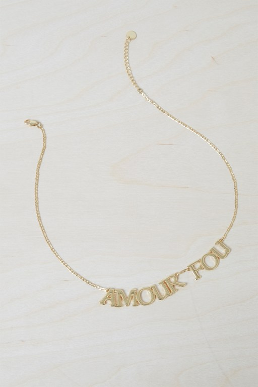 amour fou necklace
