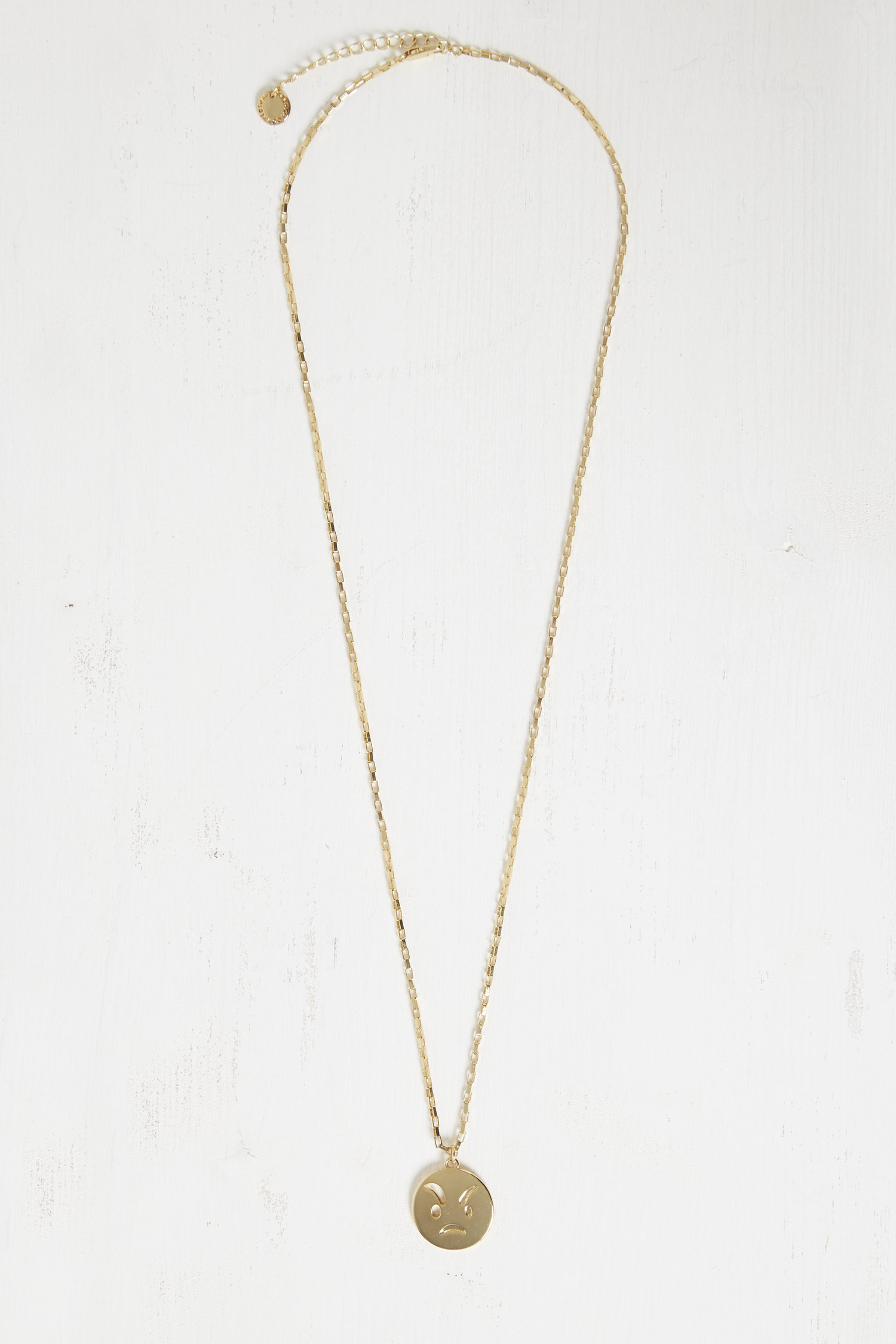 Chit Chat Sassy Necklace - gold