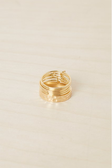 Textured Multi Ring