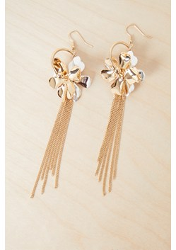 Metal Petals Earrings