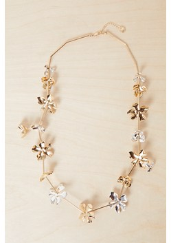 Metal Petals Necklace