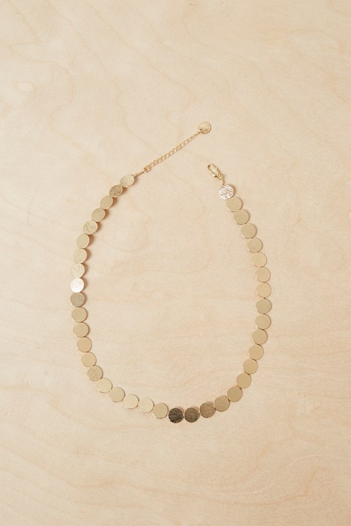 core dot necklace