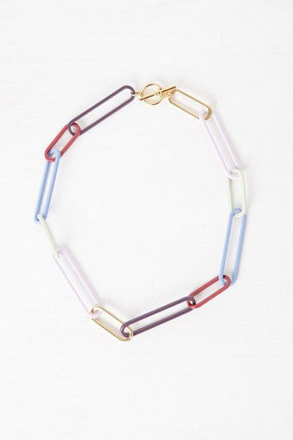 Colour Chain Necklace
