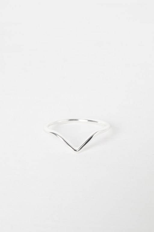 Complete the Look Wishbone Ring