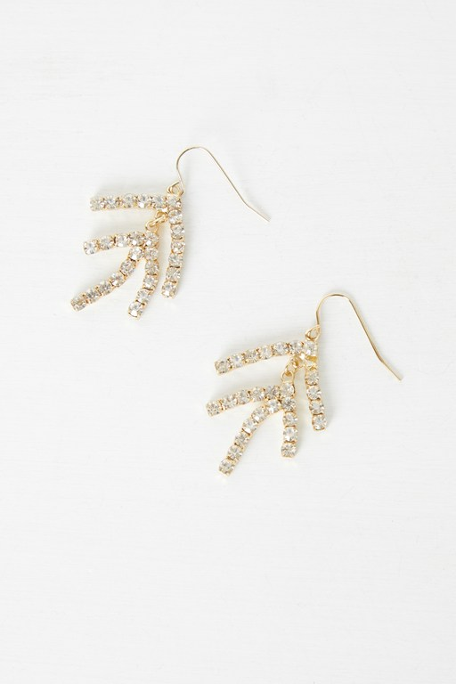Complete the Look Organic Gem Earrings