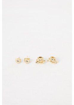 Mini Knot and Stud Earrings