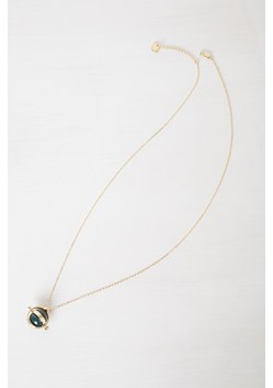 Circle And Ball Necklace