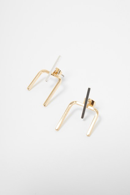 Linear Geometric Earrings