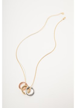 Geo Triple Circle Necklace