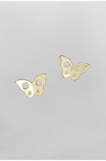 Butterfly Cutout Stud Earrings