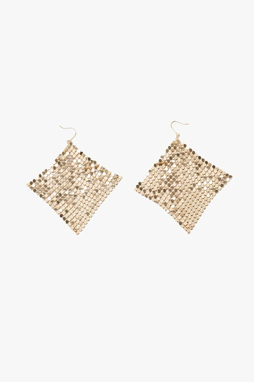 Complete the Look Mesh Drop Earrings