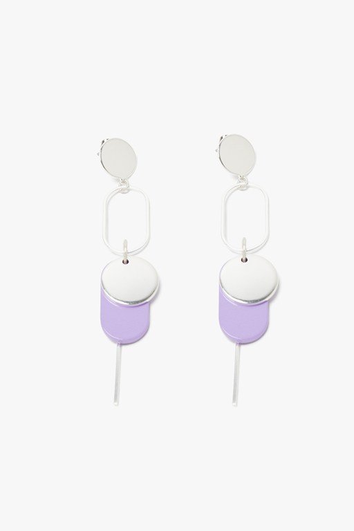 Complete the Look Geo Disc Earring