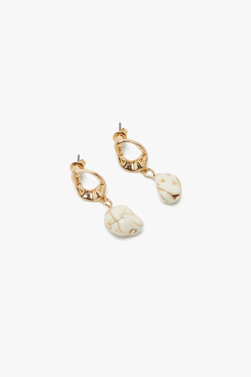 Complete the Look Organic Stone Earring