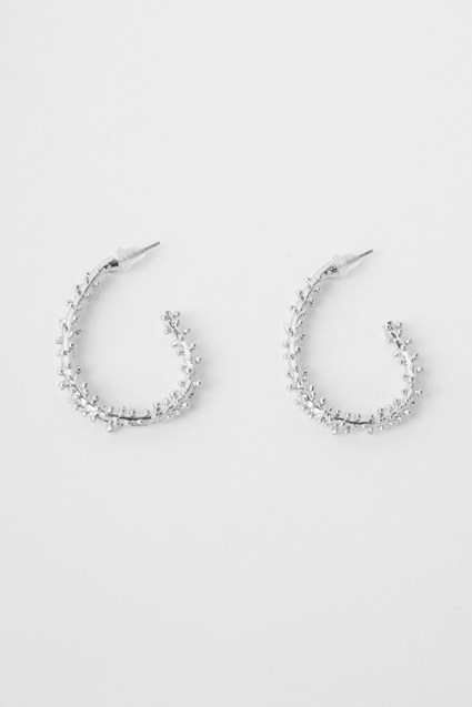 Prickle Hoop Earrings
