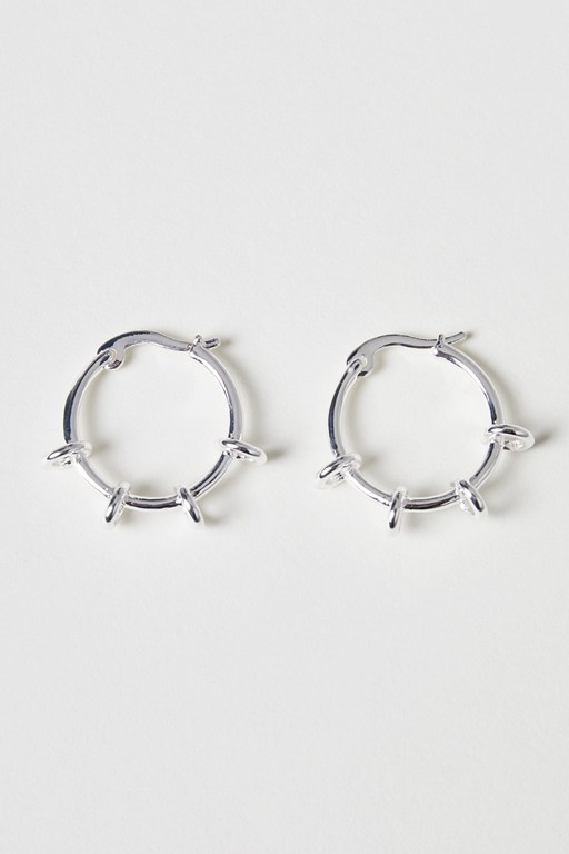 hoop to loop earrings