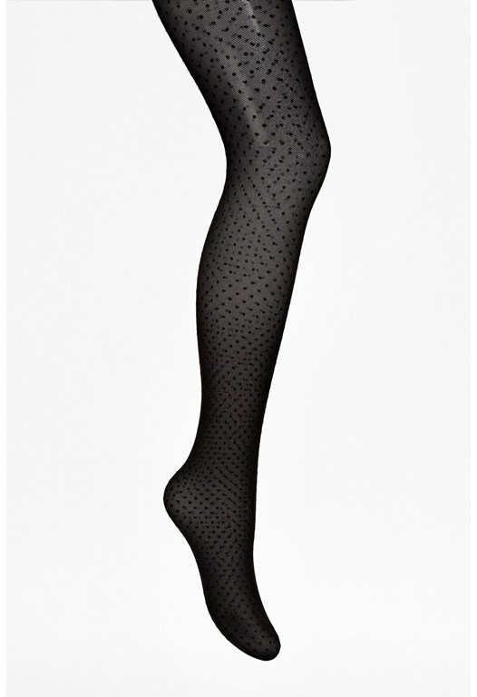 Tia Polka Dot Tights